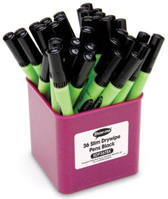 Show Me Medium Tip Pens 36 Deskpot