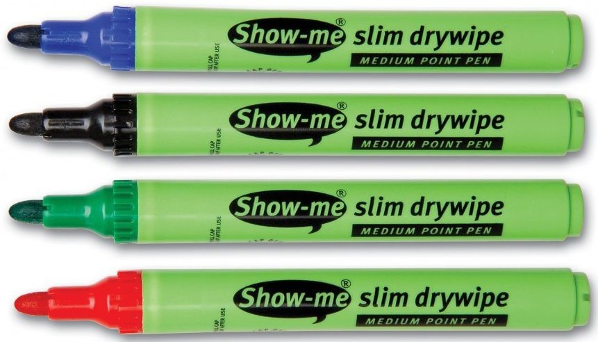 An image of Show Me Medium Tip Assorted - Whiteboards