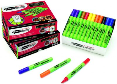 Show Me Medium Tip Colour Pens 50 Pack
