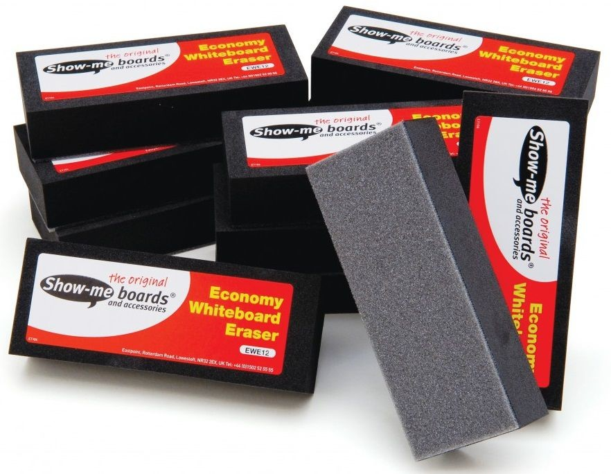 An image of Show Me Economy Whiteboard Erasers - Whiteboards