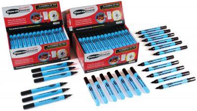 Show Me Fine Tip Black Pens 100 Pack