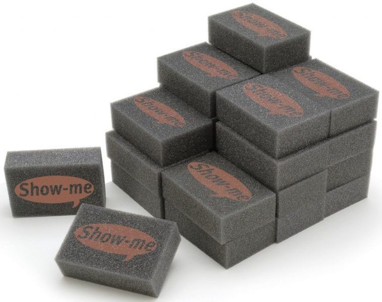 An image of Show Me Mini Foam Erasers - Whiteboards