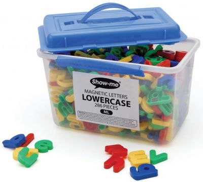 Show Me Lowercase Magnetic Letters