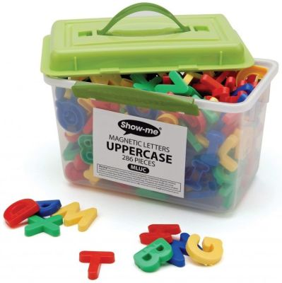 Show Me Magnetic Uppercase Letters