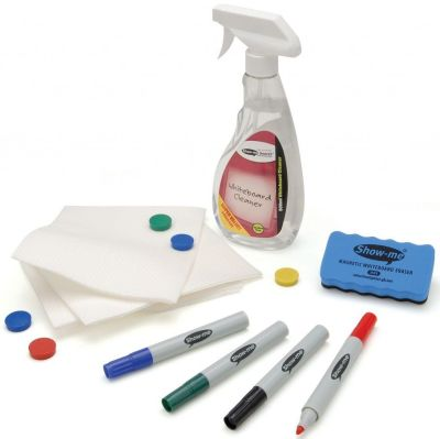 Show Me Magnetic Whiteboard Kit