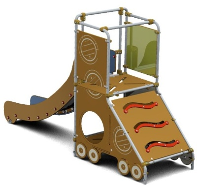 Majique Passenger Slide
