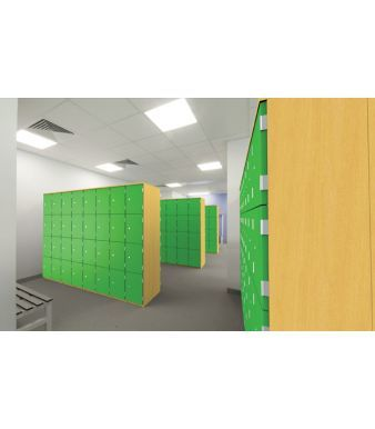 Combination Aztec Lockers