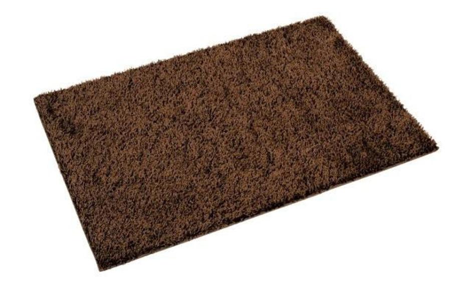 Shaggy rugs argos plain dye rug grey merchant 9 16 for Door mats argos