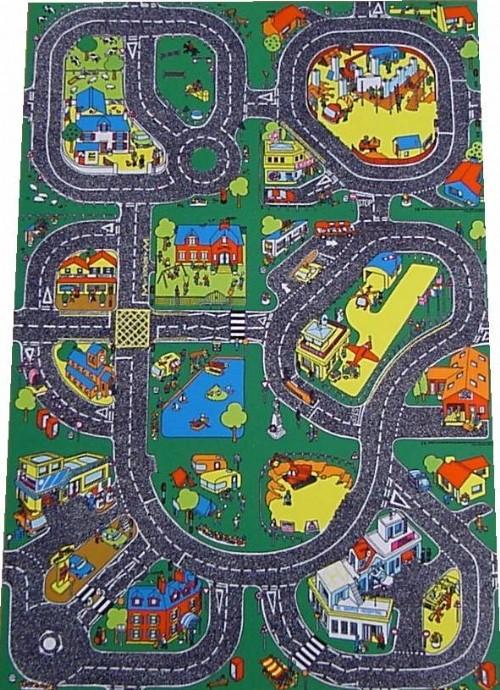 An image of Roadway Classroom Playmat