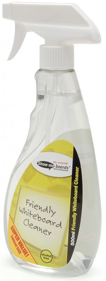 An image of Show Me Friendly Whiteboard Cleaner - Whiteboards