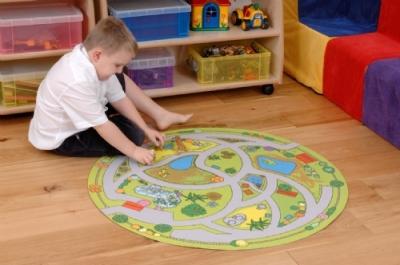 Animal Sanctuary Playmat Circular Fun