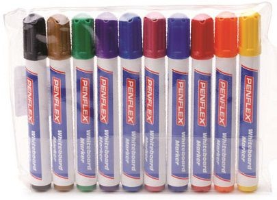 An image of Penflex WB15 Whiteboard Markers - Wallets - Whiteboards