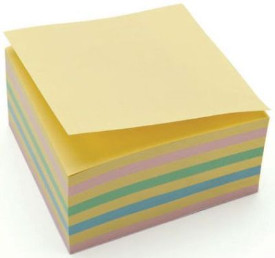 Recreate Recycled Pastel Repositionable Note Pad