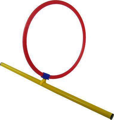 Flat Hoop Post Clip On Hoop & Post
