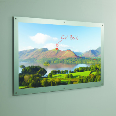 WRITE-ON GLASS PROJECTION BOARD