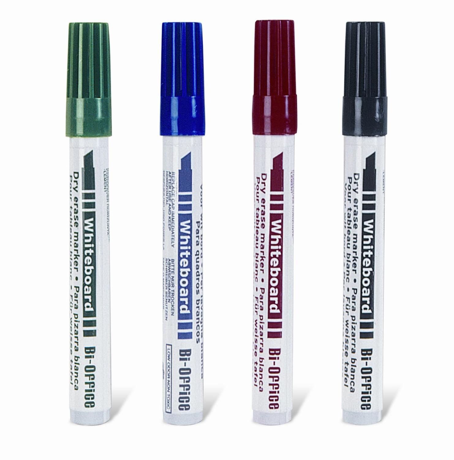 An image of 4 x Marker Pens for Whiteboards - Whiteboards
