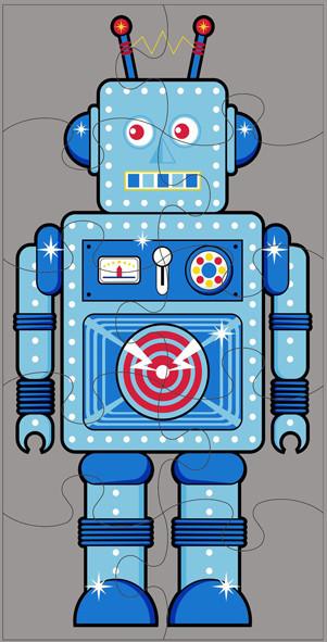 An image of Robot Jumbo Puzzle