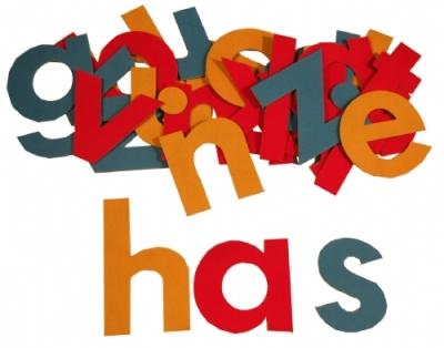JUMBO LETTERS Alphabet Learn