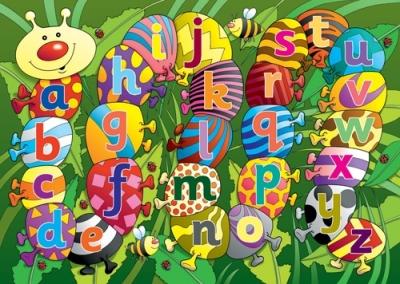 Caterpillar Alphabet Playmat