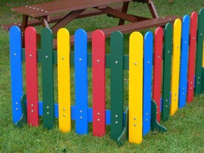 Westlake Rainbow Outdoor Fence