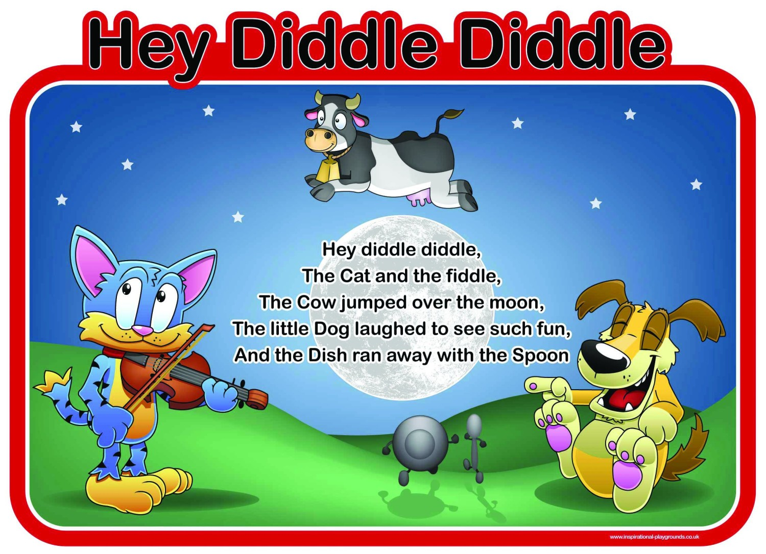An image of Hey Diddle Diddle Sign