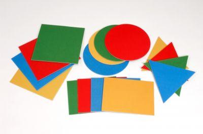 Giant Geometric Shapes 16 Pcs