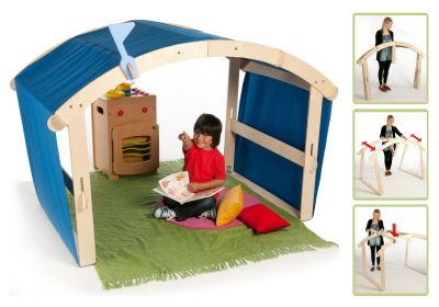 Indoor & Outdoor Folding Den (2)