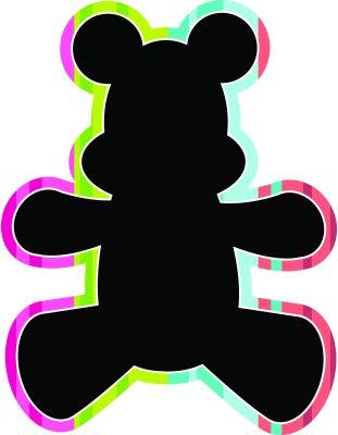 Toys Chalkboard - Teddy