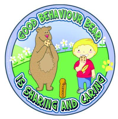Good Behaviour Bear - Sharing & Caring