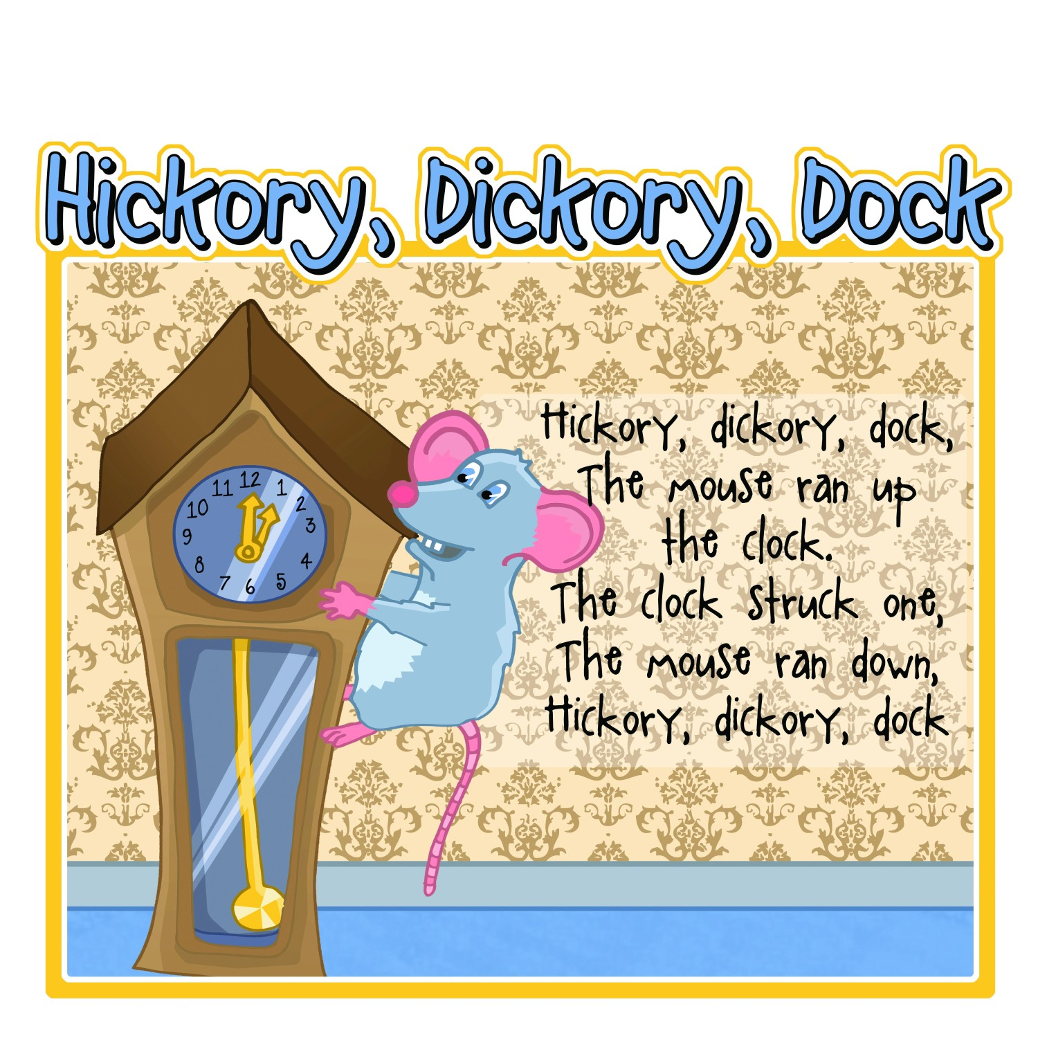 An image of Hickory Dickory Dock Sign