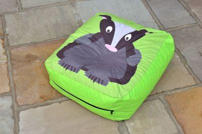 Badger Bean Cushion