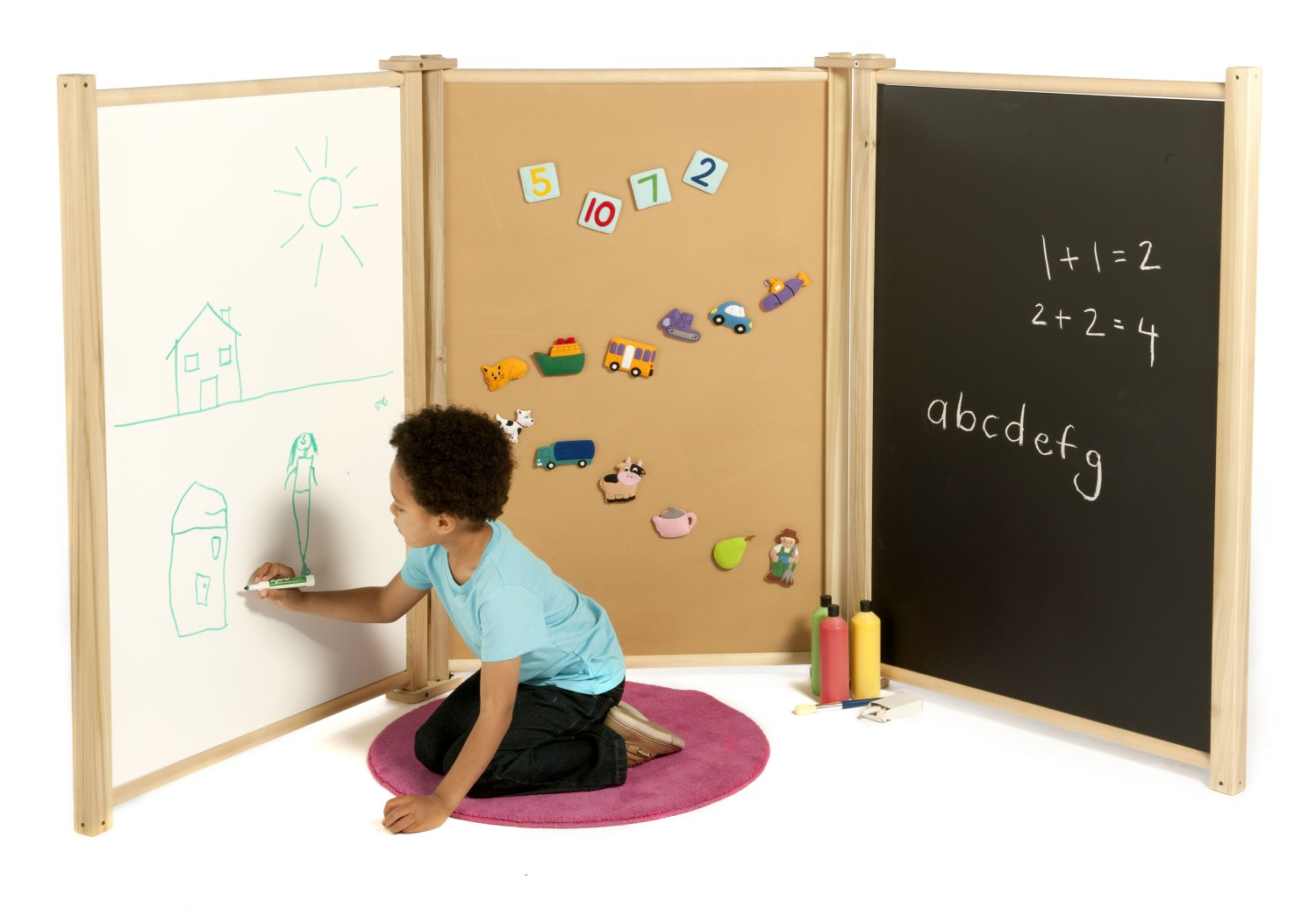 An image of Role Play Creative Panel Set - Room Dividers & Panels