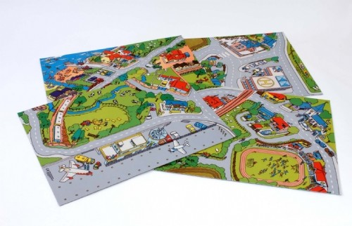 An image of Hepworth Playmat Pack - Town & Country