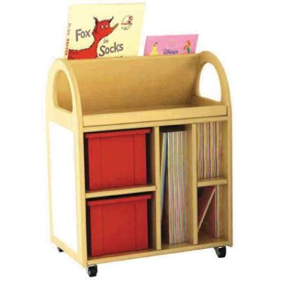 Multi Purpose Book Trolley (2)