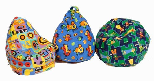 An image of Nursery Pear Bean Bag