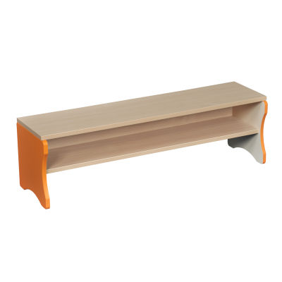 Orange Edged Bench