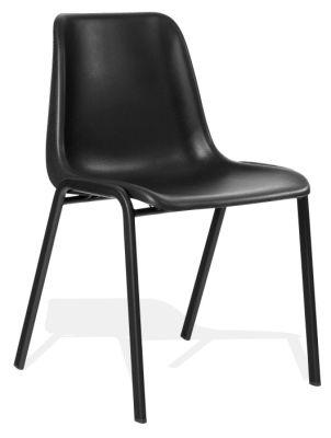 Sen Next Day Poly Chair Black