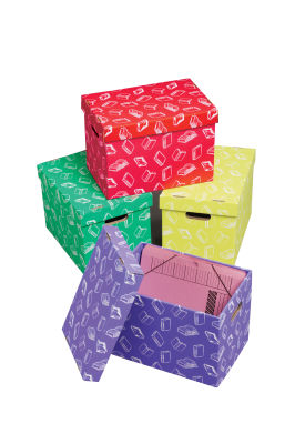 Class Store Handy Archive Storage Boxes