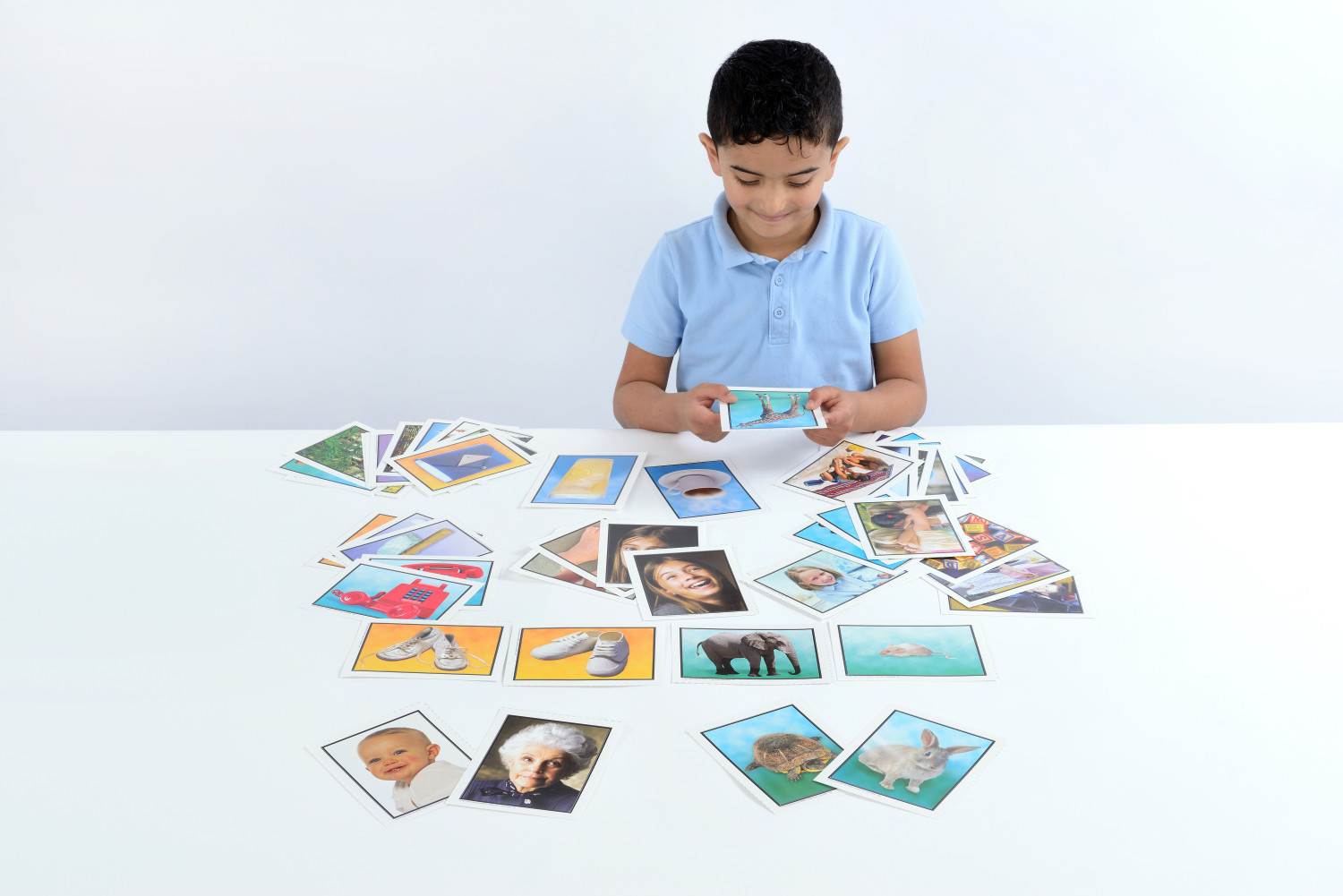 An image of Opposites / Adjectives Learning Cards