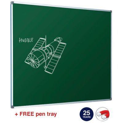HB Green Enamel Whiteboard