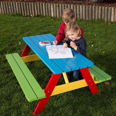Bambi Nursery Picnic Table