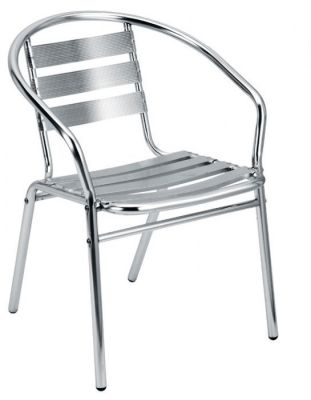 Maze Outdoor Aluminium Side Chair