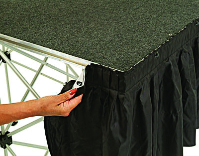 Ultralight Staging Valance