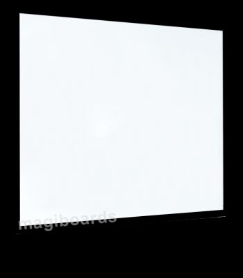Semi Matt 40mm Black Wood Frame