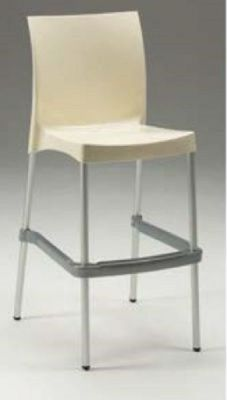 Sophie All Weather Plastic High Stool