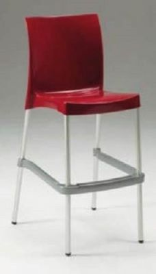 Sophie All Weather Plastic High Stool 1