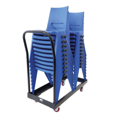 Disport Chair Blue Stacked