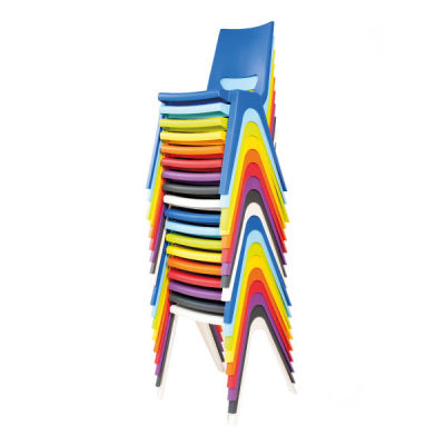 Disport Chair Multicoloured Stacked