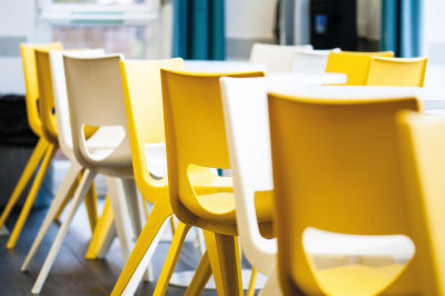 Disport Yellow And White Chairs