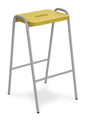 Woodentopstool-1-yellow